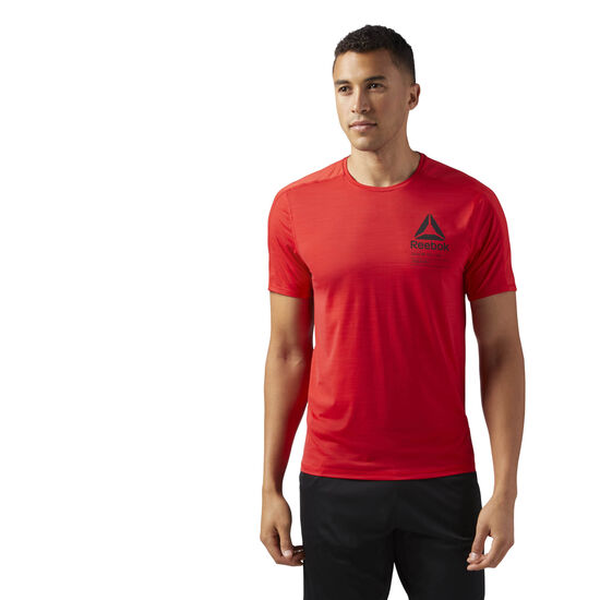Reebok - ACTIVCHILL Graphic T-Shirt Primal Red CF3749