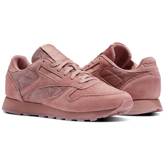 Reebok - Classic Leather Lace Sandy Rose/White BS6523