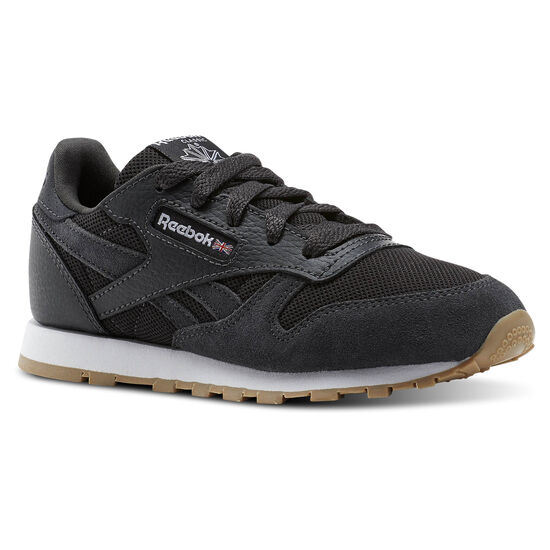 Reebok - Classic Leather ESNTLS Coal/White CN1143