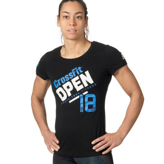 Reebok - Reebok CrossFit Open 18 Tee Black DW9367