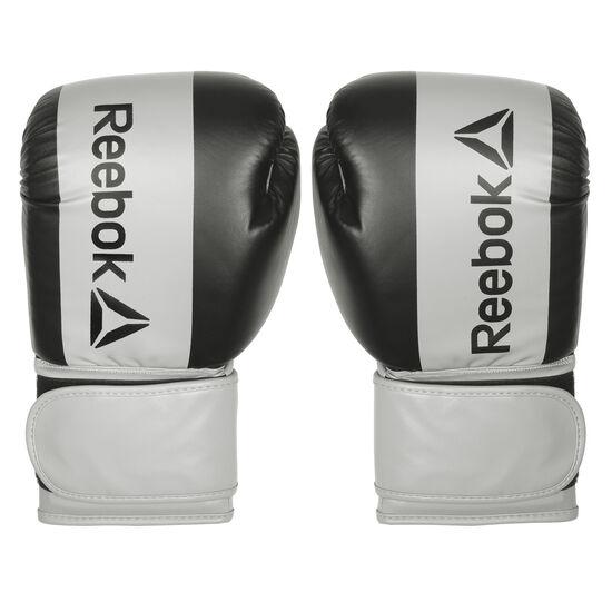 Reebok - 453 g Gloves Mens PU Black/Grey B79393