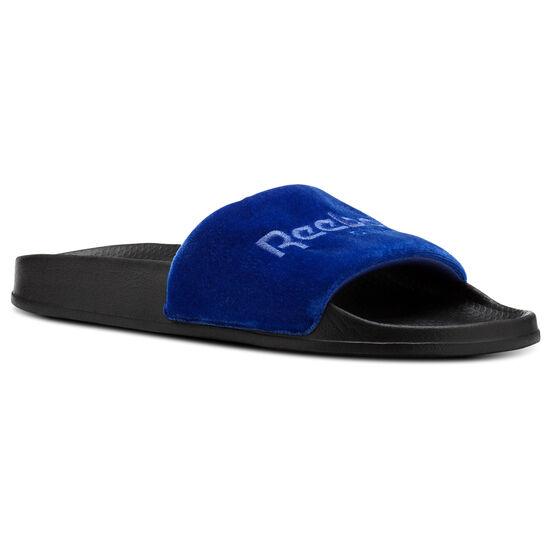 Reebok - Reebok Classic Slide Collegiate Royal/Acid Blue/Black/White/Velvet CN4190