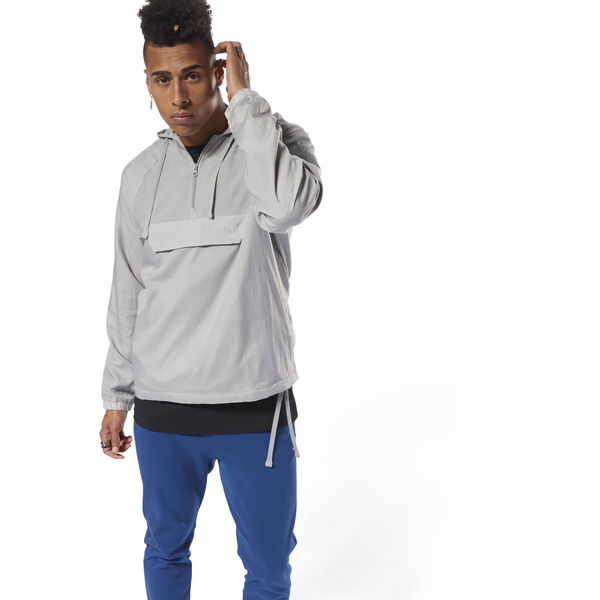 Classics Advanced 1/2 Zip OTH Grey DJ1924