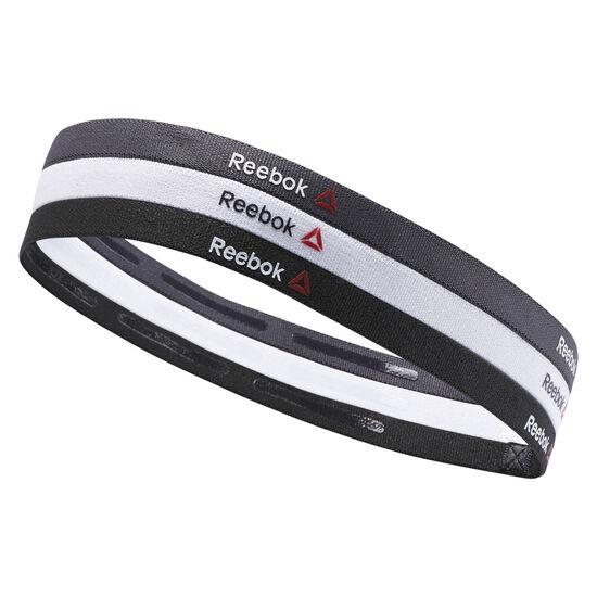 Reebok - Reebok ONE Series Thin Headbands Black/White/Coal AY0250