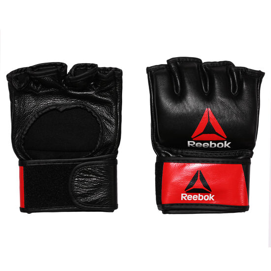 Reebok - Combat Leather MMA Glove - Medium Black/Red BH7249