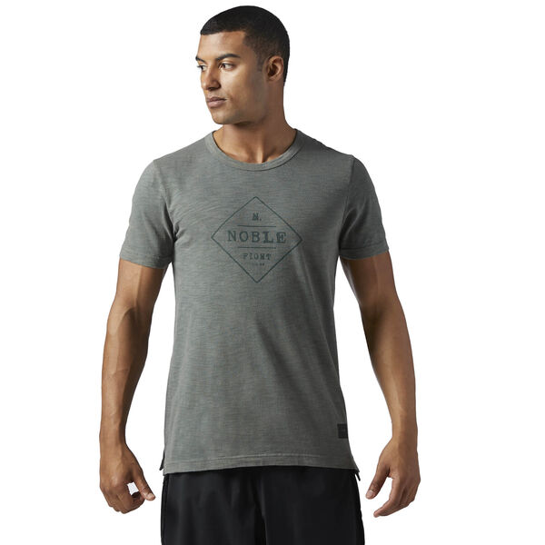 NOBLE FIGHT TEE Grey BQ8028