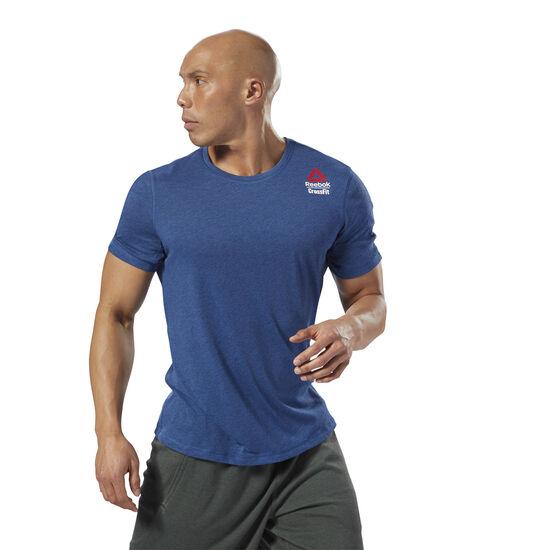 Reebok - Reebok CrossFit Move Tee - Games Bunker Blue Mel-R DM3973