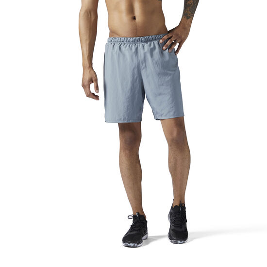 Reebok - LES MILLS Woven 18 cms Shorts Asteroid Dust CE6724