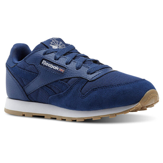 Reebok - Classic Leather ESNTLS Washed Blue/White CN1136