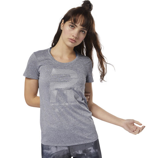 Reebok - Running Reflective Graphic Tee Black D78939