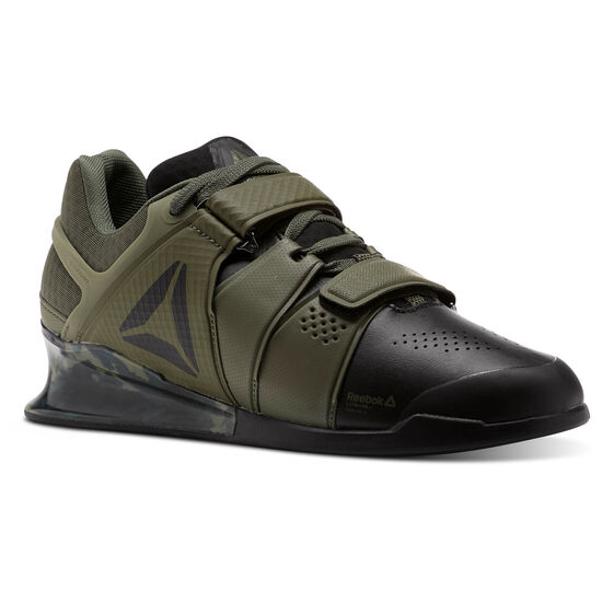 Reebok - Reebok Legacy Lifter Camo-Black/Hunter Green CN1003