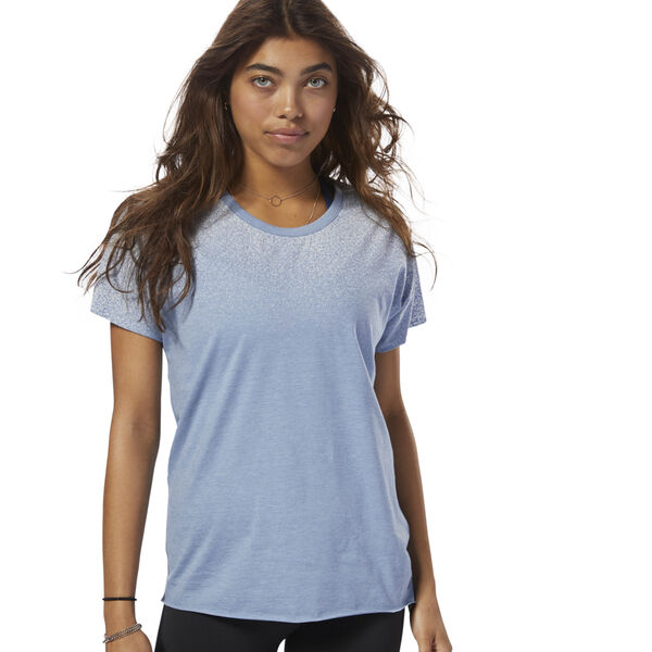 Distressed Tee Blue CY4930