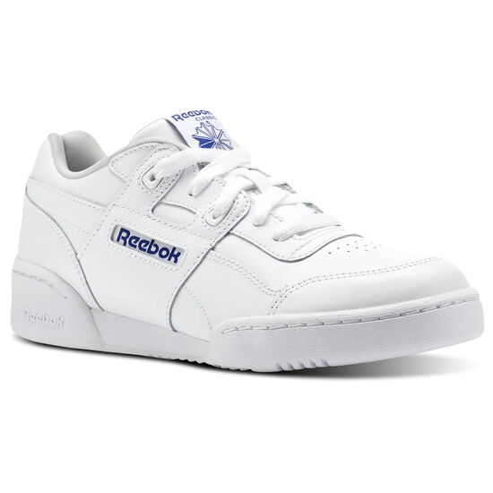 Reebok - Workout Plus White/Steel/Royal CN1826
