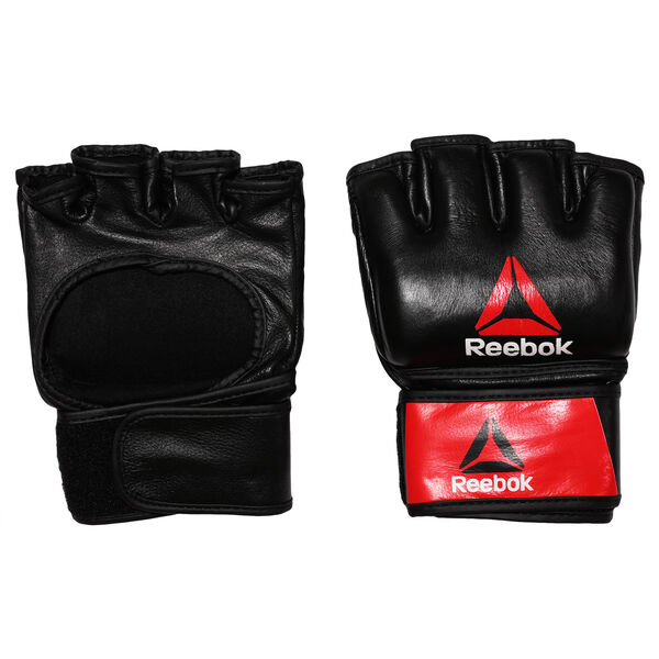 Combat Leather MMA Glove - Large Black BH7250