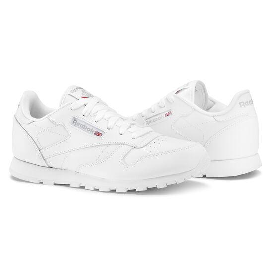 Reebok - Classic Leather - Primary School White 50151