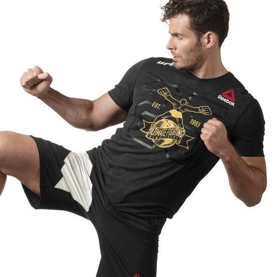 Reebok - UFC Fight Kit Decorated Jersey Black / Ufc Gold DN2425