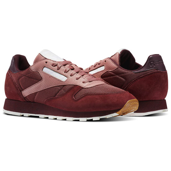 Reebok - Classic Leather Urban Descent Rugged Maroon/Sandy Rose/Maroon/Chalk BS5228