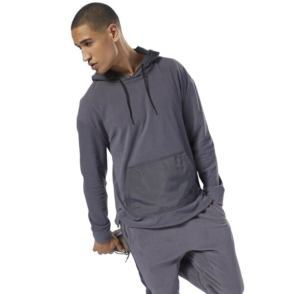 Training Essentials Microfleece Hoodie Grey D94158