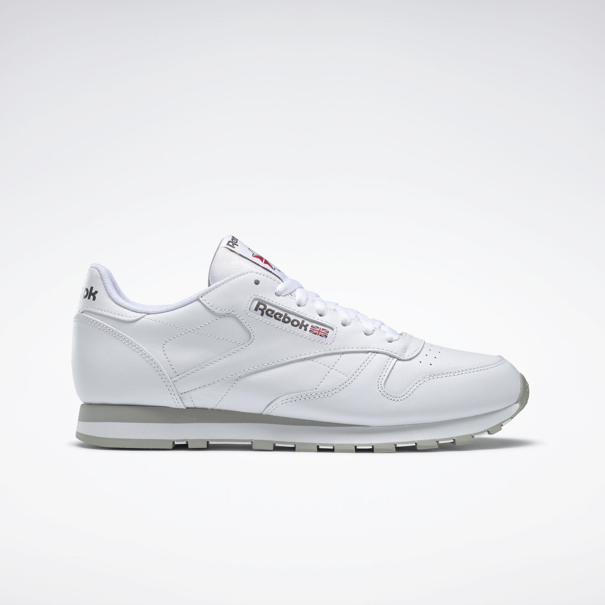 Reebok Classic Leather - White | Reebok MLT - photo#28