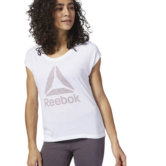 Reebok - Workout Ready Supremium 2.0 Tee White / White D95476