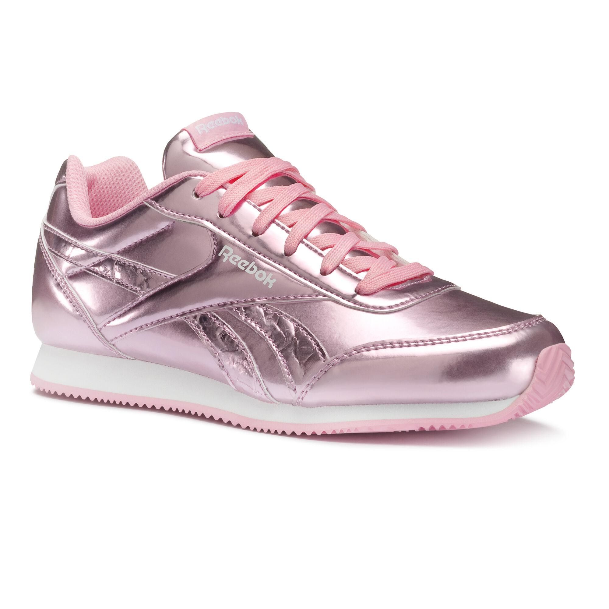 reebok classic rosa metallic