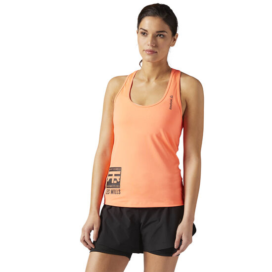 Reebok - LES MILLS BODYCOMBAT™ Racerback Tank Guava Punch CE6804
