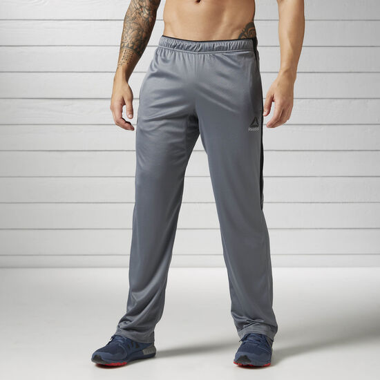 Reebok - Workout Ready Knitted Open Hem Pants Alloy BK3122