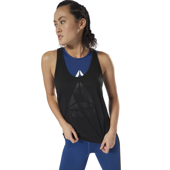 Reebok - Workout Ready Supremium 2.0 Tank Black / Black DH4998