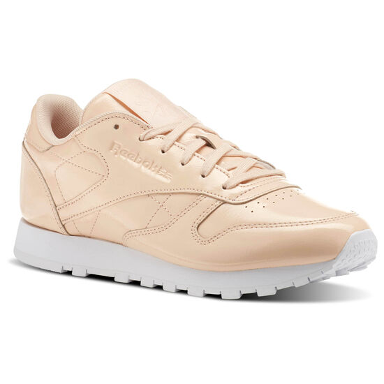 Reebok - Classic Leather PATENT Pink/Desert Dust/White CN0771