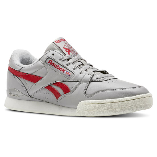 Reebok - Phase I Pro Vintage- Mgh Solid Grey/Power Red/White CN5315