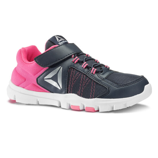 Reebok - YOURFLEX TRAIN 9.0 ALT Grey/Collegiate Navy/Acid Pink/Silver Met CN2956