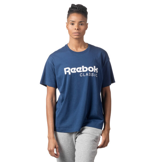 Reebok - Elevated Tee Washed Blue CY8337