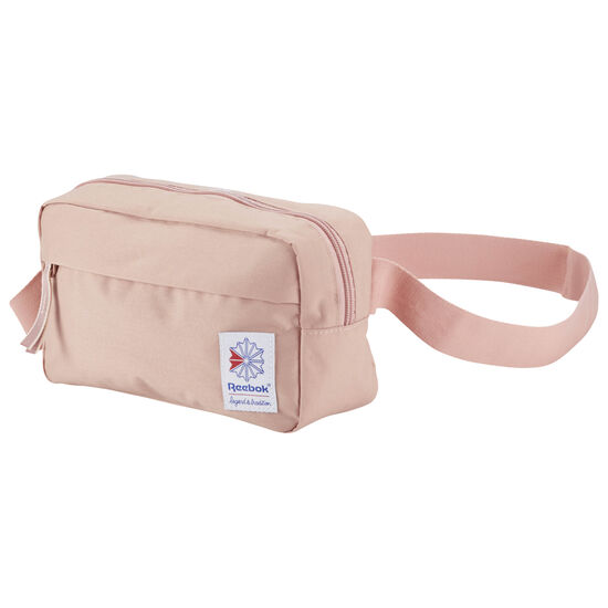 Reebok - Classic Throwback Zippered Waistbag Chalk Pink CD6553