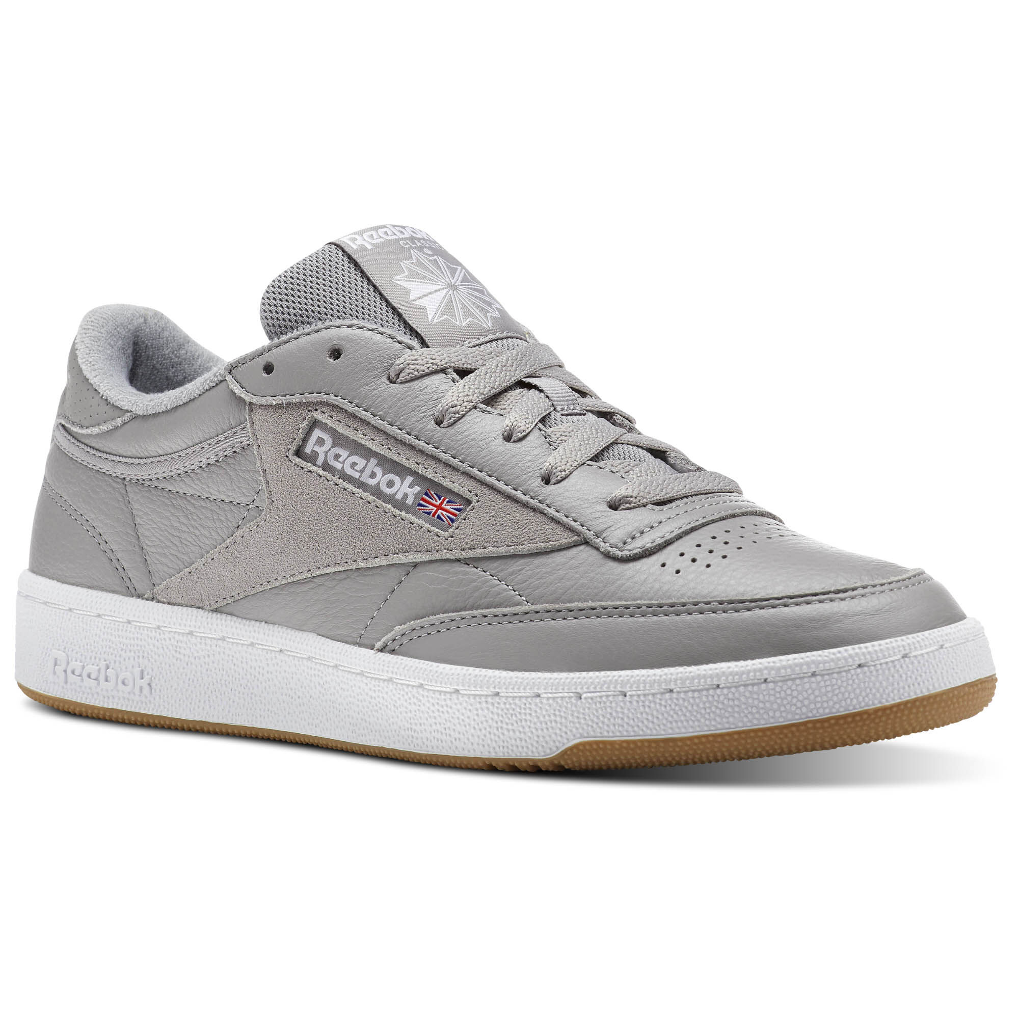 Reebok - Club C 85 ESTL Powder Grey/White/Washed Blue-Gum CM8794