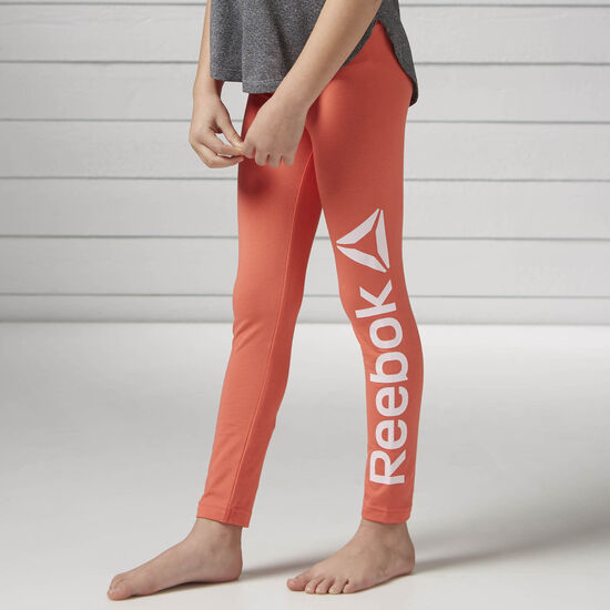 Reebok - Girls Essentials Leggings Fire Coral BK4342