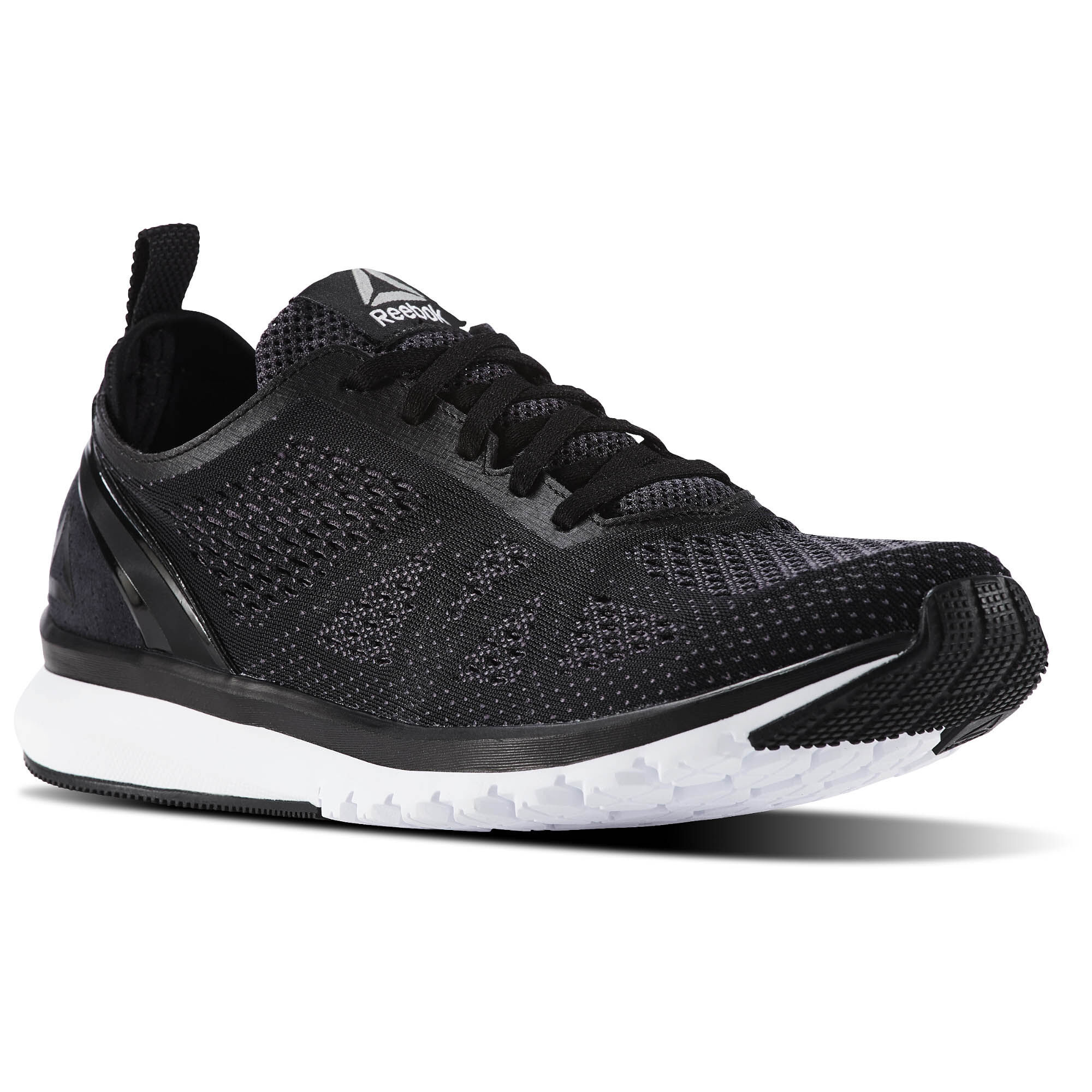 Reebok FLOATRIDE RUN ULTK - Neutral running shoes - black/bunker blue/white y8uXkt