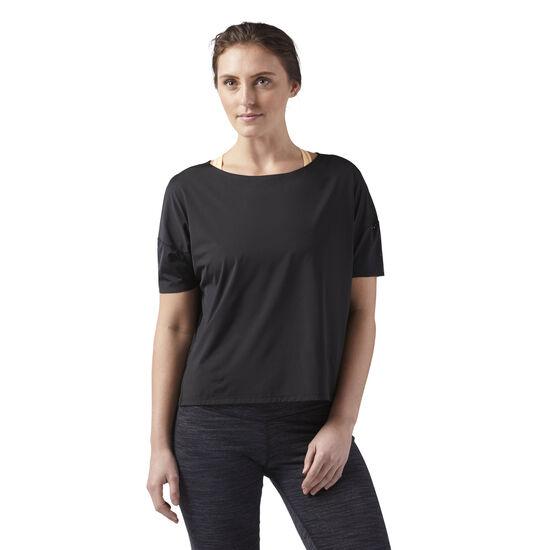 Reebok - Relaxed Women's T-Shirt Black CF3315