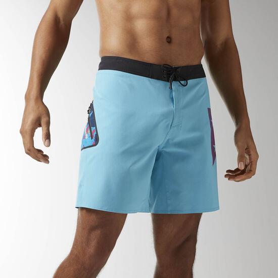 Reebok - Reebok CrossFit Super Nasty Shorty Board Short Blue Beam B45149