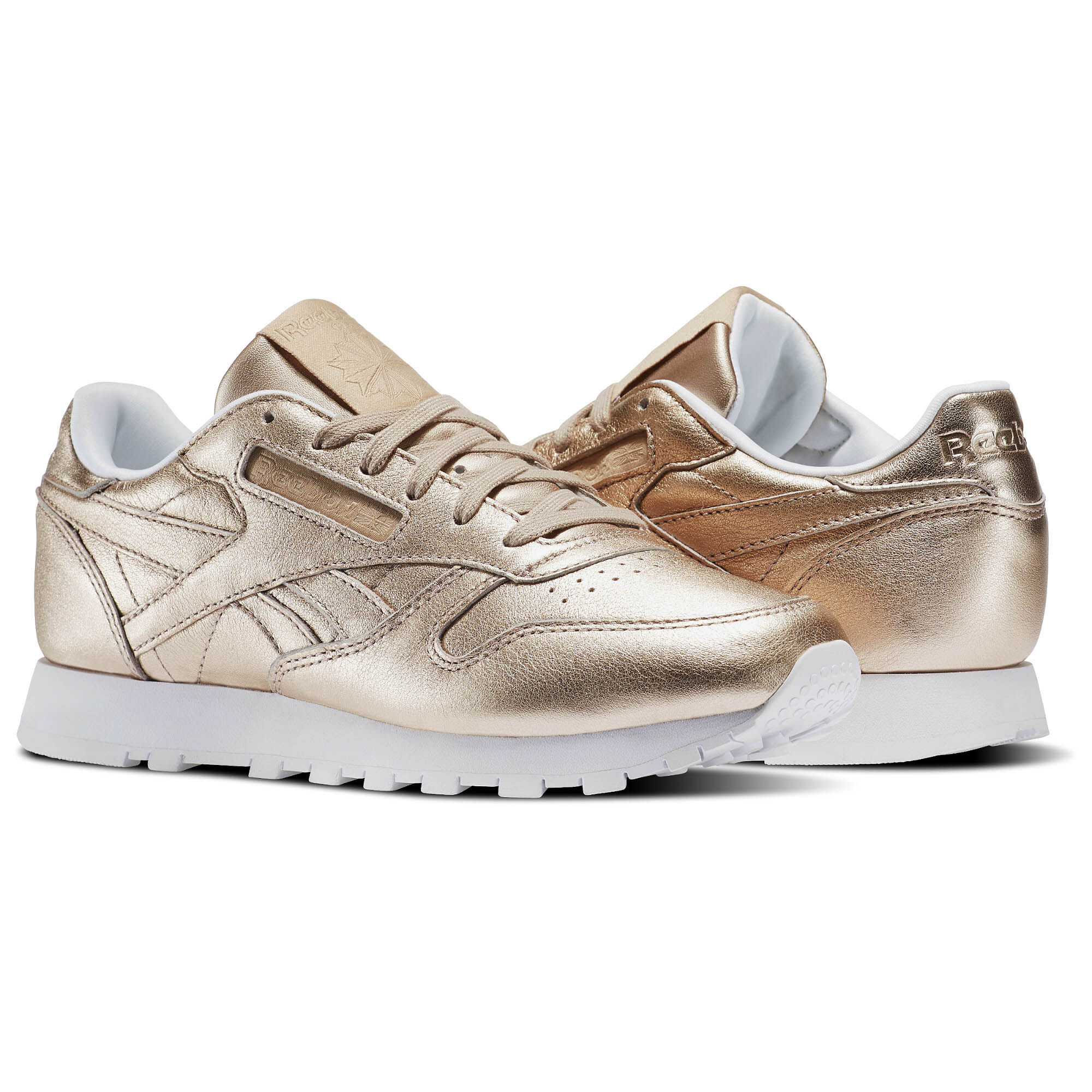 Reebok - Classic Leather Melted Metals Gold/Pearl Met-Peach/White BS7897