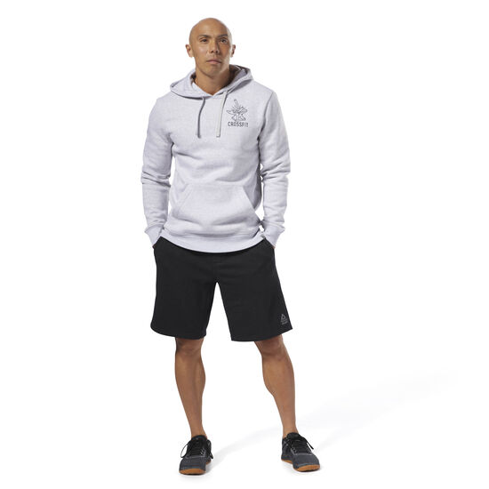 Reebok - Reebok CrossFit Anvil Pullover Light Grey Heather DH3700