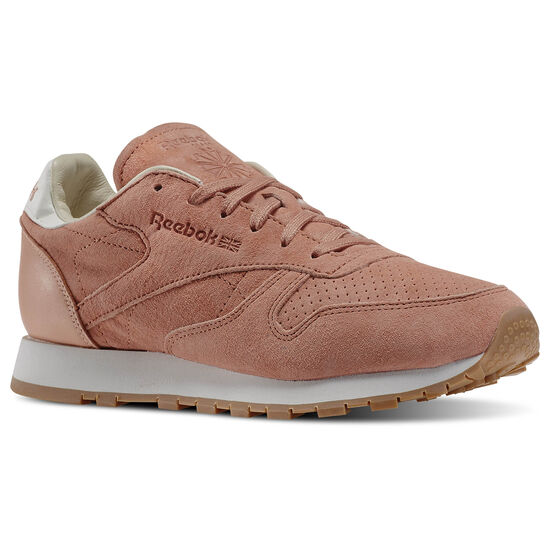 Reebok - Classic Leather Bread & Butter Pink/Rustic Clay/Chalk/Desert Stone/Gum V69199