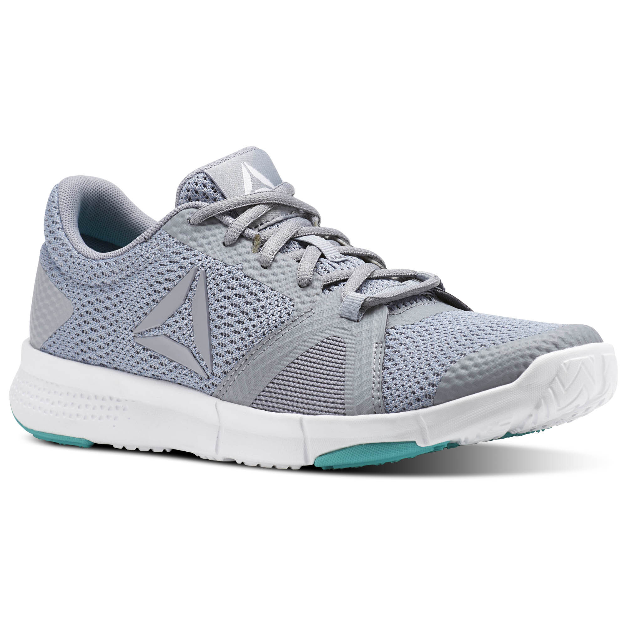 Reebok - Reebok Flexile Cool Shadow/Rain Cloud/White/Solid Teal BT0021