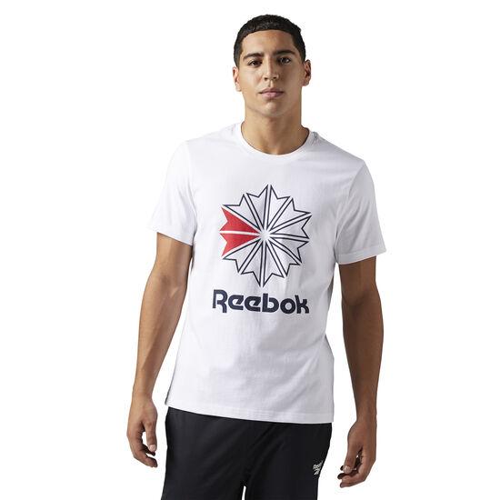 Reebok - Reebok Classics Big Logo Tee White BQ3474