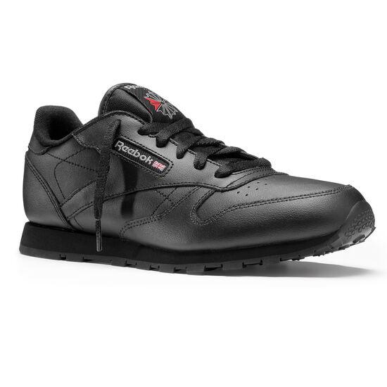 Reebok - Classic Leather - Primary School Black 50149