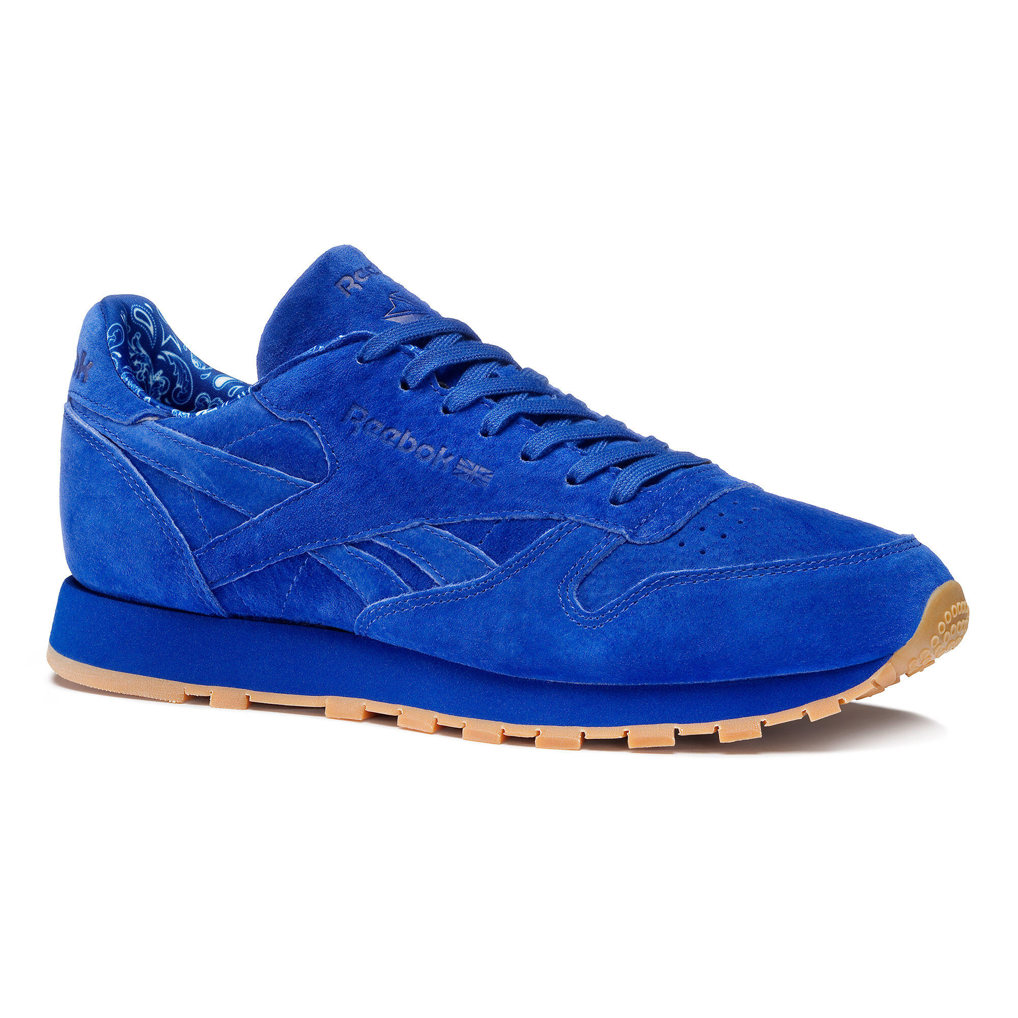 Reebok Classic CL  Trainers  collegiate royalwhite   Z9lsy5V2g