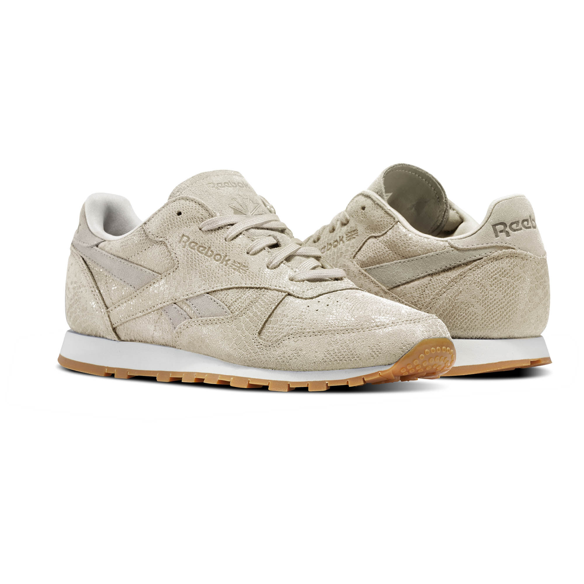 Reebok Cl Leather Clean Exoctics W Lo Sneaker Schuhe schwarz QhV1ZR1VP