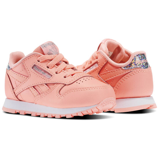 Reebok - Classic Leather Pastel - Infant & Toddler Orange/Sour Melon/White BS8983