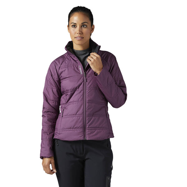 Outdoor Padded Jacket Purple BR0526
