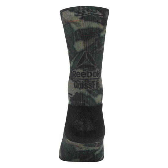 Reebok - Reebok CrossFit Graphic Socks Army Green CD7295