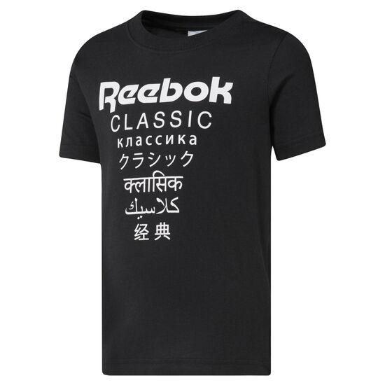 Reebok - Unisex Classics Graphic T-Shirt Black DH3241